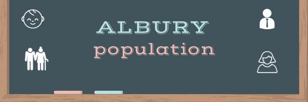 Albury population