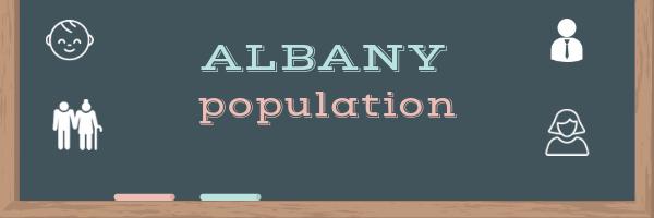 Albany population